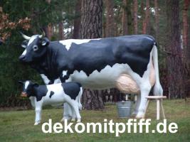Foto 4 Du möchtest eine Deko Kalb mit Deko Kuh ?