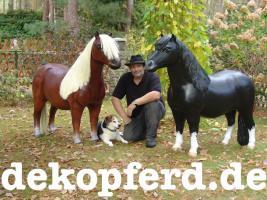 Foto 4 Du wüst Dir von deinen Gatten zum geb. ein Deko Pferd … ok. und welches Deko Pferd - Modell ...