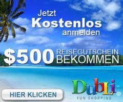 Dubli - Reisegutschein im Wert von 500 USD