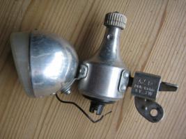 Dynamorennradlampe DDR-Ruhla
