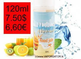 E-Juice Liquid HAWAII MIXED 120ml 6,60€ E-CIG
