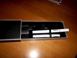 Foto 2 E-Zigarette eGo - W  mit 20ml Liquid - Neuware - Sonderaktion