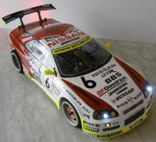 Foto 2 ELEKTRO RACING CAR 1/10er RTR  4WD 2,4Ghz Fernst. Lipo Akku, Lipo Lader /sehr schnelles Modell