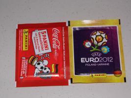 EM 2012 - 10 Päckchen Sticker Panini NEU & OVP