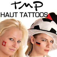 Foto 2 WM Fanartikel 2014: Deutschland Fan Tattoo Flaggen