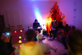 Kaminzimmer Party Livemusik