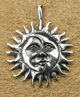 Eclipse Kettenanhänge Silberschmuck