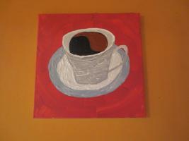 Edle Kaffeetasse