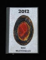 Edler Schmuck-Terminplaner ''Dein Name'' 2013 - Design ''Ovalyth''