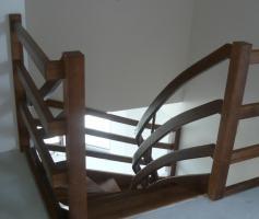 Foto 7 Eiche Esche Ahorn Buche Holztreppe aus Polen Tischlerei Tischler