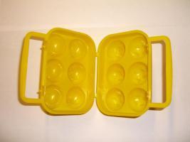 Eieraufbewahrung für 6 Eier, Kunststoff