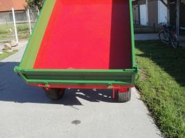 Foto 2 Einachs-Kippanhänger hydr. für Kleintraktoren 1500kg Nutzlast