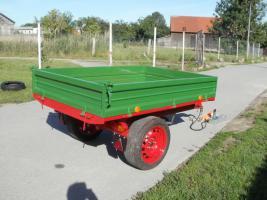 Foto 5 Einachs-Kippanhänger hydr. für Kleintraktoren 1500kg Nutzlast