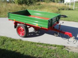 Foto 6 Einachs-Kippanhänger hydr. für Kleintraktoren 1500kg Nutzlast