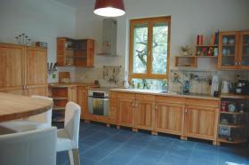 Foto 2 Einbauküche Massiv Bio-küche Holzküche Naturmöbel von Bio-Tischler