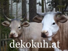 Eine Deko Kuh oder doch eine andere Deko Figur als Blickfang ….