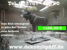 Foto 3 Eine Kuh als Gartenblickfang ….