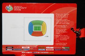 Foto 2 Eine Originale VIP Karte WM 2006 Viertelfinale Deutschland - Schweden