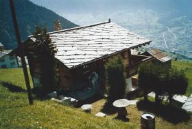 Einfamilienhaus/Chalet im Safrandorf Mund/VS