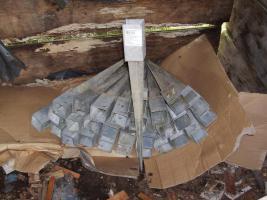 Einschlag Bodenhülsen 71 x 71 x 750mm