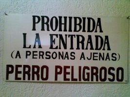 Eintritt Verboten - Prohibita La Entrada