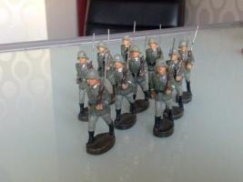 Elastolin Wehrmachtssoldaten!!!Achtung Dachbodenfund!!!