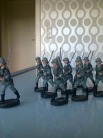 Foto 3 Elastolin Wehrmachtssoldaten!!!Achtung Dachbodenfund!!!