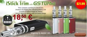 Eleaf iStick TRIM GSTurbo Kit nur € 18,50 E-Cig