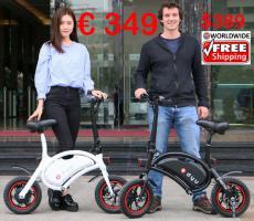 Electric Bike DYU F-Wheel faltbar nur 349€ frei Haus