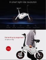 Foto 2 Electric Bike DYU F-Wheel faltbar nur 349€ frei Haus
