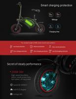 Foto 3 Electric Bike DYU F-Wheel faltbar nur 349€ frei Haus