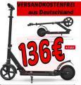 Electric SCOOTER faltbar nur 136€ versandkostenfrei aus Deutschland
