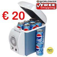 Elektr. Portable Car Refrigerator 12V – Cooler Warmer nur 20€ frei Haus