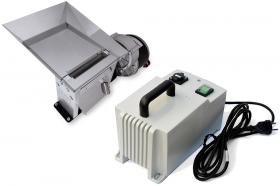 Elektrische Tabakschneidemaschine TREZO 100 0.8 HV mit transformator