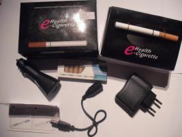 Elektrische Zigarette mit 3 Ladegeräten und 20 Liquidfilter  SpitzenQualität