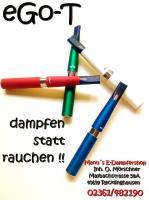 Foto 3 Elektrische Zigaretten in verschieden Farben, Liquids in ca.25 verschiedenen Geschmacksrichtungen