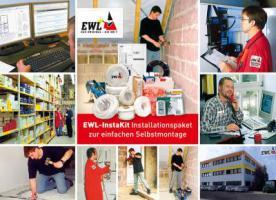 Elektrobausätze für die Haus-Elektroinstallation von EWL Instakit