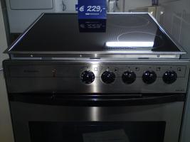 Foto 4 Elektroherd mit Cerankochfeld Silber oder Schwarz