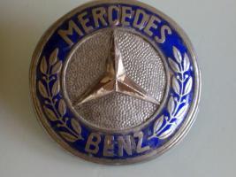 Emailierte Mercedes-Benz Plakete Emailierte Plakete von Mercedes-Benz (vermutlich Lkw)