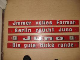 Emailleschilder 14 Stück von Juno
