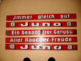 Foto 2 Emailleschilder 14 Stück von Juno