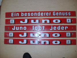 Foto 3 Emailleschilder 14 Stück von Juno