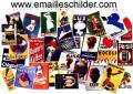 Emailschild Emailleschild Werbeschild Reklameschild Werbung Reklame Blechdose