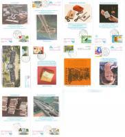 Erstagskarten 10 Stück 1976+1981 Niederlande wie auf Bild zu sehen.