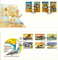 Foto 4 Ersttagsbriefe (FDC - First Day Covers) Tokelau