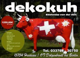 Foto 6 Es ist doch ganz einfach Du kaufst in Deutschland Deine Deko Kuh und läste Sie zu Dir in die Schweiz liefern ...