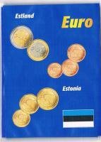 Estland Euro Kursmünzensatz  '' 2011 '' !