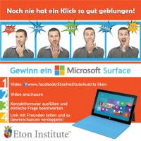 Eton Institute verlost ein brandneues Microsoft Surface!