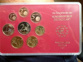 Euro-Münzen BRD 2002 spiegelglanz