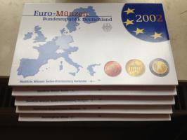 Foto 3 Euro-Münzen BRD 2002 spiegelglanz